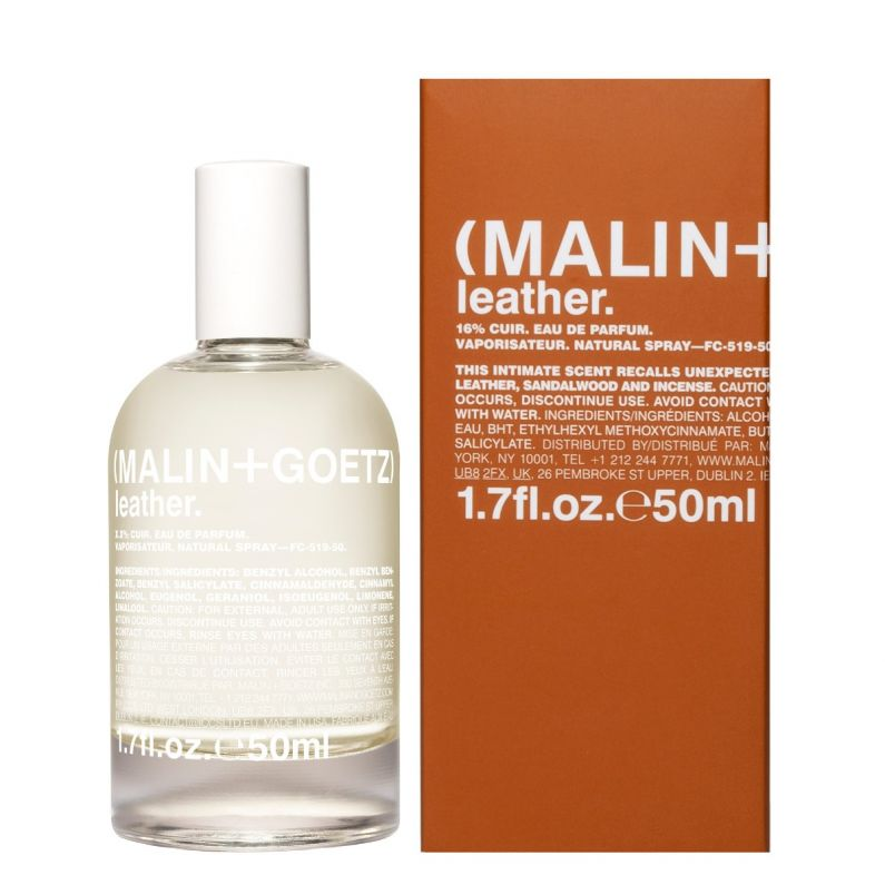 leather eau de parfum with box