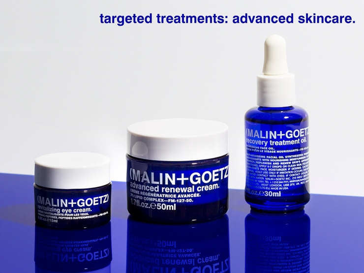 targeted treatments: advanced skincare.
