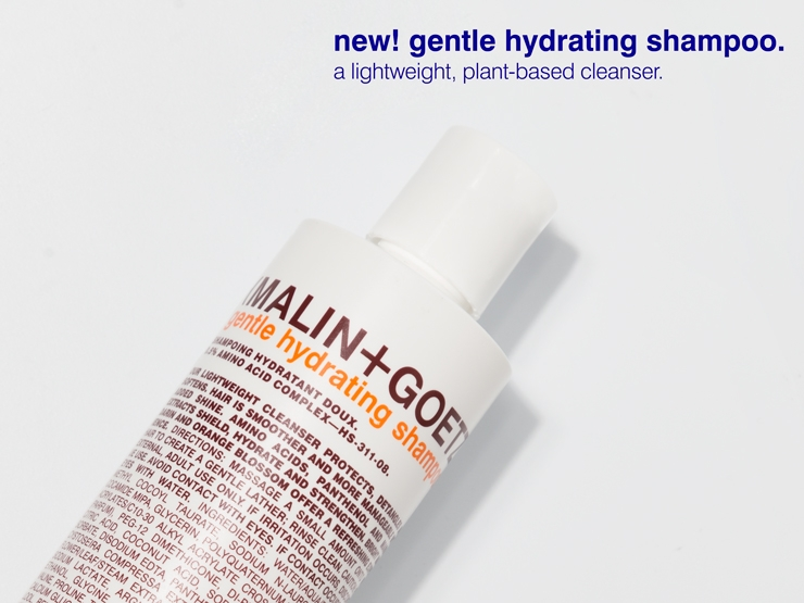 gentle hydrating shampoo.