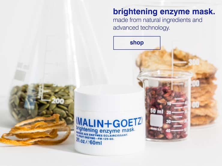 brightening enzyme mask ingredients