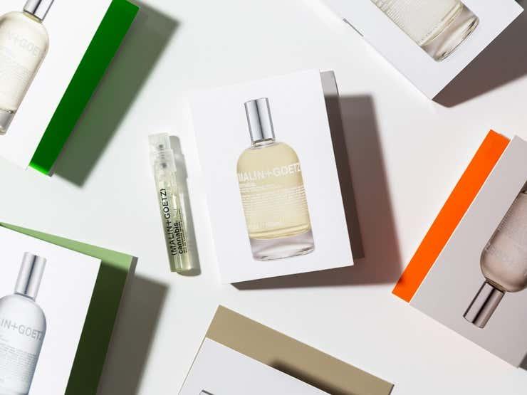 Malin + Goetz fragrance samples