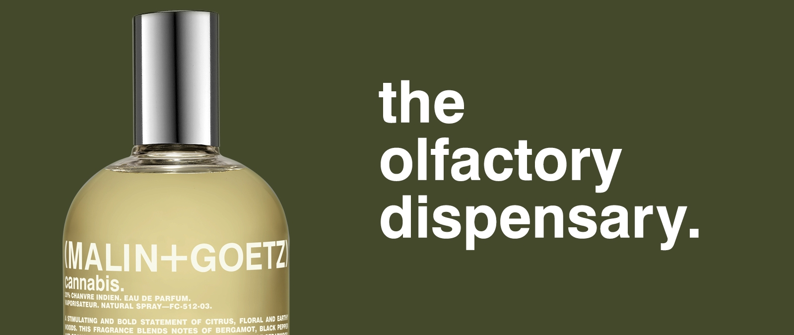 the olfactory dispensary.